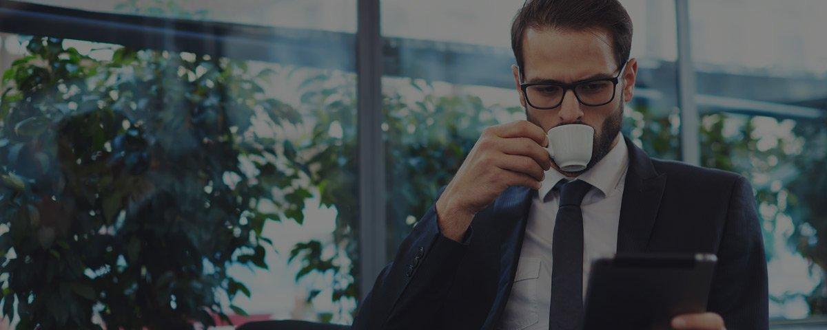 gratis verzekerd koffie man
