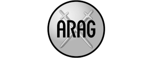 logo arag verzekeringen grijs