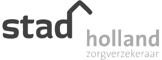 logo stad holland verzekeringen grijs